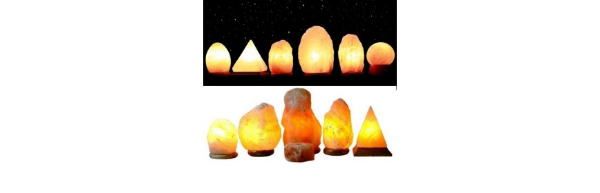 Lampes de Sel de l'Himalaya
