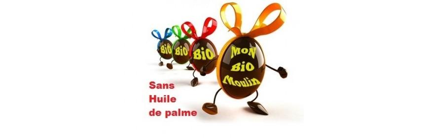 Chocolat BiO sans huile de palme, sans lécithine