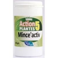 Mince'activ (Pot de 100 gélules végétales dosées à 395 mg)