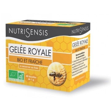 Gelée Royale BIO fraîche (40 g ou 40 doses de 1gr)