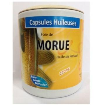 Huile de foie de Morue (Boite de 100 capsules de 392 mg)