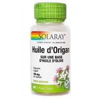 huile d'origan (60 gélules végétales dosées à 150 mg)
