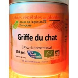 Griffe de chat BIO (250 gélules végétales dosées à 250 mg)