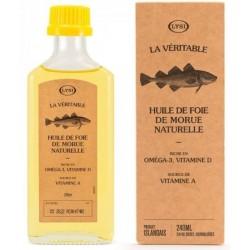 Huile de foie de morue naturelle (240 ml)