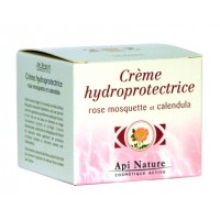 Crème hydro protectrice à la rose musquée (50 ml)