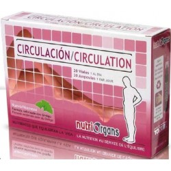 Circulation (20 fioles de 10 ml.)