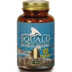 SQUALO 100% cartilage de requin (100 capsules de 740 mg)