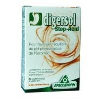 DIGERSOL (Boîte de 20 comprimés à mâcher)