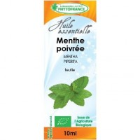 Huile essentielle Menthe poivrée BiO (1O ml)