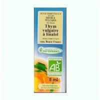 Huile essentielle thym à linalol bio (5 ml)