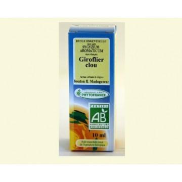 Huile essentielle Giroflier BiO (10 ml)