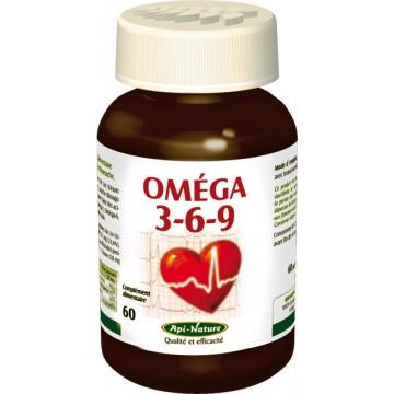 Omega 3-6-9 (60 gélules de 1397.65 mg)