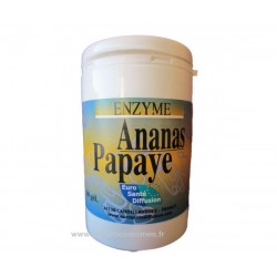 Ananas Papaye (60 gélules végétales de 300 mg)