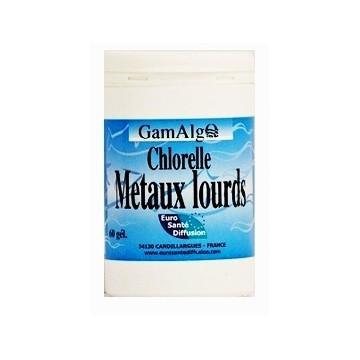 Chlorelle Métaux Lourds à Dunkerque (100 gélules végétales de 545 mg)