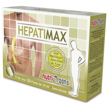 Hepatimax (20 fioles de 10 ml)