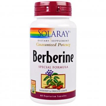 Berbérine standardisée (60 capsules végétales)