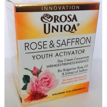 Crème (de jour) visage à la Rose de Damas & Safran (pot 50ml)