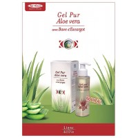 Gel pur d'Aloe Vera à la bave d'Escargot (flacon pompe de 150 ml)