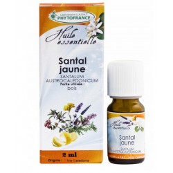 Huile Essentielle de Santal Jaune (2 ml)