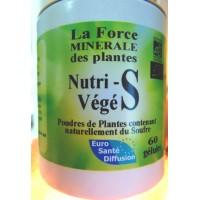 Nutri-Végé S (Soufre de plantes) 60 gélules végétales de 395 mg