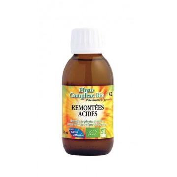 REMONTÉES ACIDES - Complexe de plantes BIO (125 ml)