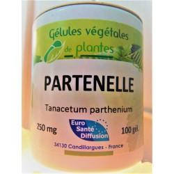 Partenelle ou Grande Camomille - 100 gélules de 325 mg