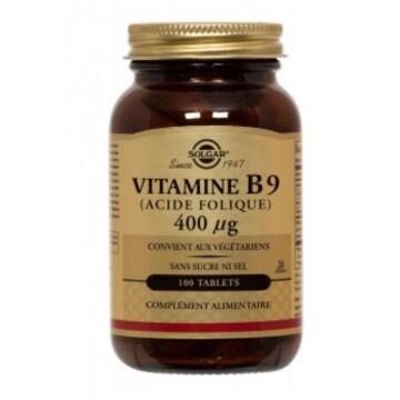 Vitamine B9 400 µg (100 tablets)