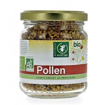 Pollen Bio multifloral - Pot en verre de 125g